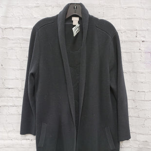 Primary Photo - BRAND: CHICOS STYLE: COAT LONG COLOR: BLACK SIZE: M SKU: 115-115360-1147