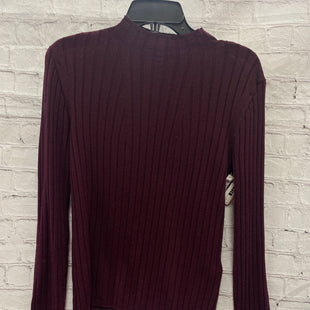 Primary Photo - BRAND: BANANA REPUBLIC STYLE: TOP LONG SLEEVE COLOR: MAROON SIZE: M SKU: 115-115335-3776