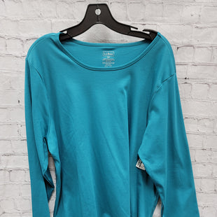 Primary Photo - BRAND: LL BEAN STYLE: TOP LONG SLEEVE COLOR: TEAL SIZE: 2X SKU: 115-115335-2669