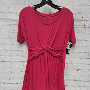 Primary Photo - BRAND: ISABEL MATERNITY STYLE: MATERNITY DRESS COLOR: RASPBERRY SIZE: S SKU: 115-115314-7390