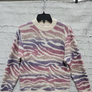 Primary Photo - BRAND: A NEW DAY STYLE: SWEATER LIGHTWEIGHT COLOR: ZEBRA PRINT SIZE: XS OTHER INFO: PASTELS SKU: 115-115309-20072