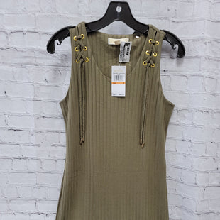 Primary Photo - BRAND: MICHAEL BY MICHAEL KORS STYLE: DRESS SHORT SLEEVELESS COLOR: GREEN SIZE: S OTHER INFO: NEW! SKU: 115-115314-7503