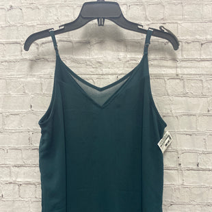 Primary Photo - BRAND:    CLOTHES MENTOR STYLE: TOP SLEEVELESS COLOR: HUNTER GREEN SIZE: L OTHER INFO: SOPHIE RUE - SKU: 115-115257-30614