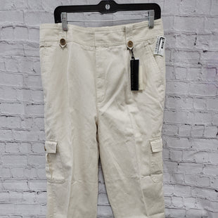 Primary Photo - BRAND: BANANA REPUBLIC STYLE: PANTS COLOR: CREAM SIZE: 12 OTHER INFO: TALL NEW! SKU: 115-115314-11618