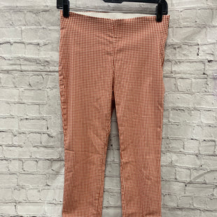 Primary Photo - BRAND: A NEW DAY STYLE: PANTS COLOR: PEACH SIZE: 2 OTHER INFO: GINGHAM SKU: 115-115309-19634