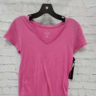 Primary Photo - BRAND: ISABEL MATERNITY STYLE: MATERNITY TOP SHORT SLEEVE COLOR: PINK SIZE: XS SKU: 115-115347-2076