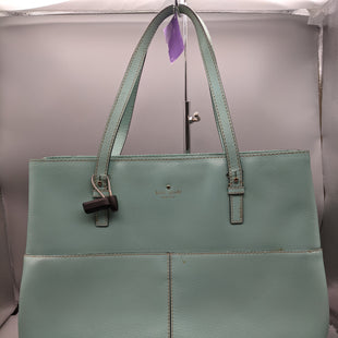 Primary Photo - BRAND: KATE SPADE STYLE: HANDBAG COLOR: TURQUOISE SIZE: LARGE OTHER INFO: **STAINS SKU: 115-115360-2321