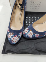 Photo #1 - BRAND: WHITE HOUSE BLACK MARKET <BR>STYLE: SHOES LOW HEEL <BR>COLOR: BLUE <BR>SIZE: 7.5 <BR>OTHER INFO: NEW IN BOX WITH DUST BAGS <BR>SKU: 115-115314-10167