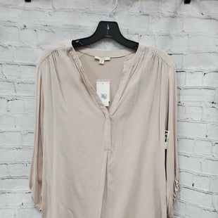 Primary Photo - BRAND: PLEIONE STYLE: TOP LONG SLEEVE COLOR: TAUPE SIZE: M SKU: 115-115338-1254
