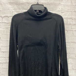 Primary Photo - BRAND: BANANA REPUBLIC STYLE: SWEATER LIGHTWEIGHT COLOR: BLACK SIZE: L OTHER INFO: NEW! - 100% WOOL SKU: 115-115347-3213