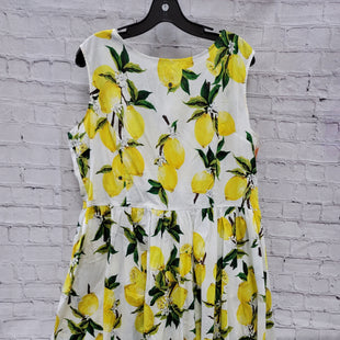 Primary Photo - BRAND:    CLOTHES MENTOR STYLE: DRESS SHORT SLEEVELESS COLOR: LEMON SIZE: 4X OTHER INFO: FE DIE - SKU: 115-115314-10061