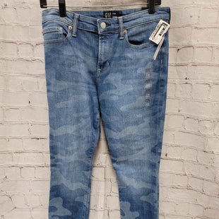 Primary Photo - BRAND: GAP STYLE: JEANS COLOR: DENIM SIZE: 6 OTHER INFO: NWT- CAMO PRNT SKU: 115-115257-29145