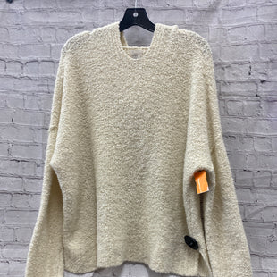 Primary Photo - BRAND: A NEW DAY STYLE: SWEATER HEAVYWEIGHT COLOR: IVORY SIZE: XL OTHER INFO: HOOD SKU: 115-115309-19818