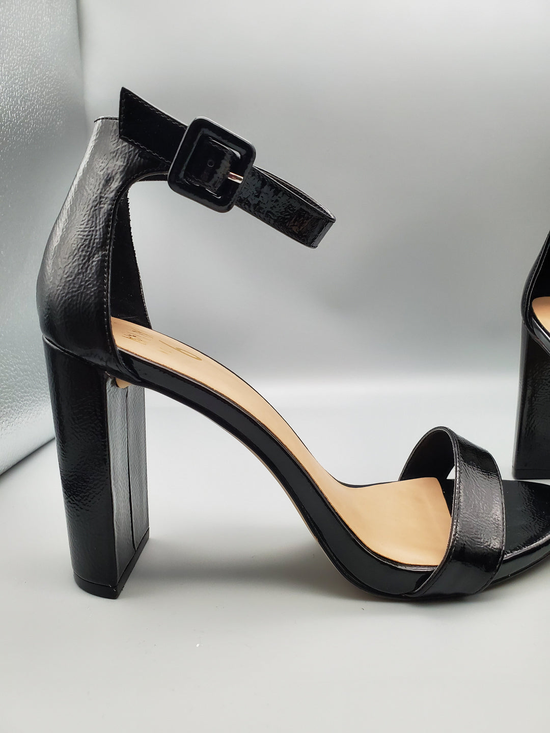 Photo #4 - BRAND: MIX NO 6 <BR>STYLE: SHOES HIGH HEEL <BR>COLOR: BLACK <BR>SIZE: 8.5 <BR>SKU: 115-115335-1958<BR>LITTLE TO NO WEAR/SCUFFING