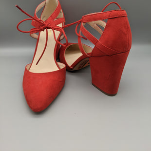 Primary Photo - BRAND: NINE WEST STYLE: SHOES HIGH HEEL COLOR: RED SIZE: 10 OTHER INFO: ** SKU: 115-115260-94212