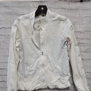 Primary Photo - BRAND: LULULEMON STYLE: ATHLETIC JACKET COLOR: WHITE SIZE: S SKU: 115-115257-29877