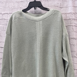 Primary Photo - BRAND: LOFT STYLE: SWEATER CARDIGAN LIGHTWEIGHT COLOR: SAGE SIZE: L OTHER INFO: NEW! SKU: 115-115314-10905