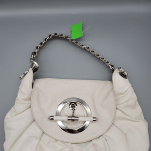 Primary Photo - BRAND: CHRISTIAN DIOR STYLE: HANDBAG DESIGNER COLOR: WHITE SIZE: MEDIUM SKU: 115-115260-94501SOME LIGHT STAINING AND WEAR THROUGHOUT