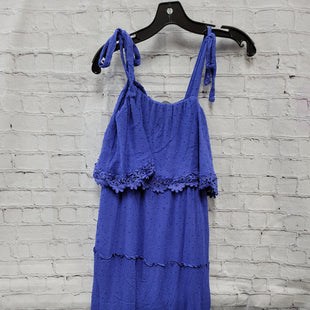 Primary Photo - BRAND:    CLOTHES MENTOR STYLE: DRESS LONG SLEEVELESS COLOR: PERIWINKLE SIZE: S OTHER INFO: L LOVE - SKU: 115-115340-5266