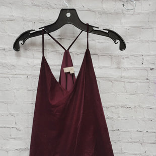 Primary Photo - BRAND: ANN TAYLOR LOFT STYLE: TOP SLEEVELESS COLOR: VELVET SIZE: XS OTHER INFO: MAROON W/ SPG STRAPS SKU: 115-115257-29297