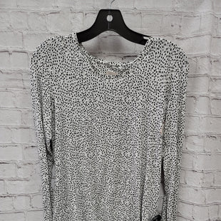 Primary Photo - BRAND: CHICOS STYLE: TOP LONG SLEEVE COLOR: WHITE SIZE: S OTHER INFO: POKA DOTS SKU: 115-115314-10974