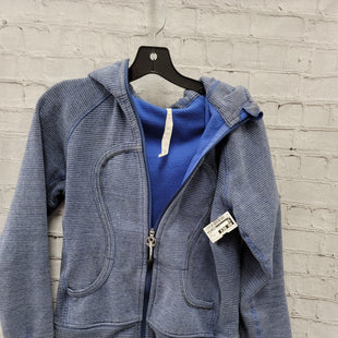 Primary Photo - BRAND: LULULEMON STYLE: SWEATSHIRT HOODIE COLOR: BLUE SIZE: 10 SKU: 115-115360-2128