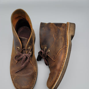 Primary Photo - BRAND: CLARKS STYLE: BOOTS ANKLE COLOR: BROWN SIZE: 7.5 OTHER INFO: *** SKU: 115-115314-10849