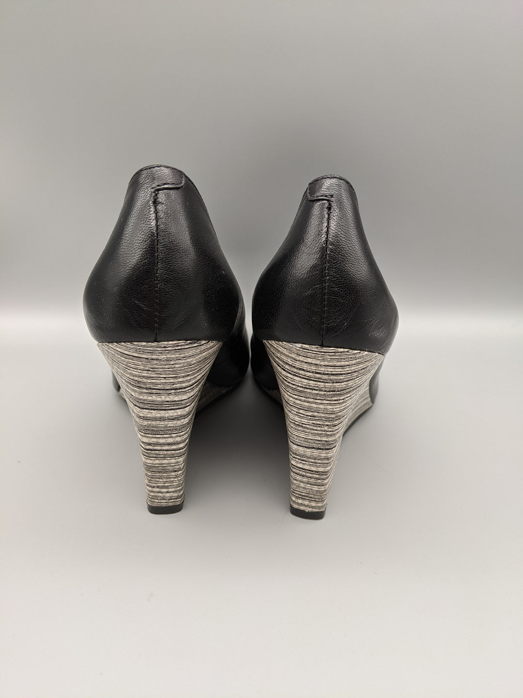 Photo #2 - BRAND: NINE WEST <BR>STYLE: SHOES HIGH HEEL <BR>COLOR: BLACK <BR>SIZE: 7 <BR>OTHER INFO: ** <BR>SKU: 115-115260-91774