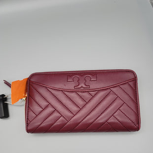 Primary Photo - BRAND: TORY BURCH STYLE: WALLET COLOR: BURGUNDY SIZE: LARGE OTHER INFO: ALEXA - AS IS SKU: 115-11545-99789