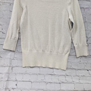 Primary Photo - BRAND: LOFT STYLE: SWEATER LIGHTWEIGHT COLOR: CREAM SIZE: S SKU: 115-115314-8506