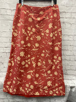 Primary Photo - BRAND: SUNDANCE <BR>STYLE: SKIRT <BR>COLOR: SALMON <BR>SIZE: 12 <BR>OTHER INFO: FLORAL <BR>SKU: 115-115335-3538