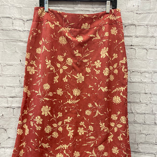 Primary Photo - BRAND: SUNDANCE STYLE: SKIRT COLOR: SALMON SIZE: 12 OTHER INFO: FLORAL SKU: 115-115335-3538