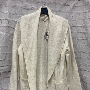 Primary Photo - BRAND: LOFT STYLE: SWEATER CARDIGAN HEAVYWEIGHT COLOR: WHITE SIZE: L SKU: 115-115338-834