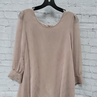 Primary Photo - BRAND: BB DAKOTA STYLE: DRESS SHORT LONG SLEEVE COLOR: DUSTY PINK SIZE: S SKU: 115-115314-12380
