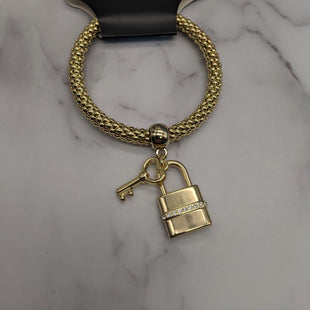 Primary Photo - BRAND:  RJ GRAZIANOSTYLE: BRACELET COLOR: GOLD OTHER INFO: HEART LOCK AND KEY SKU: 115-115314-7958