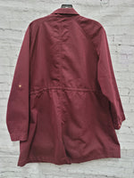 Photo #1 - BRAND: AVA & VIV <BR>STYLE: JACKET OUTDOOR <BR>COLOR: MAROON <BR>SIZE: 2X <BR>SKU: 115-115302-17499