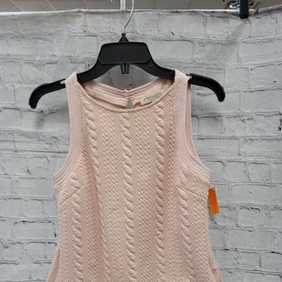 Primary Photo - BRAND: PHILOSOPHY STYLE: TOP SLEEVELESS COLOR: LIGHT PINK SIZE: S SKU: 115-115340-4647