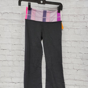 Primary Photo - BRAND: LULULEMON STYLE: ATHLETIC PANTS COLOR: BLACK SIZE: 2 OTHER INFO: PURPLE, PINK SKU: 115-115338-2768MODERATE WEAR AND PILLING