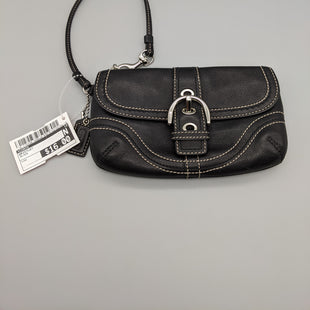 Primary Photo - BRAND: COACH STYLE: WRISTLET COLOR: BLACK SKU: 115-115338-3685SOME WEAR