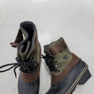 Primary Photo - BRAND: SOREL STYLE: BOOTS ANKLE COLOR: GREEN SIZE: 6.5 SKU: 115-115309-19767