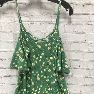 Primary Photo - BRAND:    CLOTHES MENTOR STYLE: TOP SHORT SLEEVE COLOR: GREEN SIZE: S OTHER INFO: KAILEIGHT - FLORAL SKU: 115-115302-15127