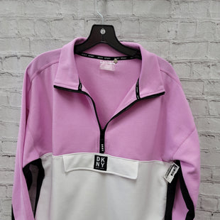 Primary Photo - BRAND: DKNY STYLE: SWEATSHIRT HOODIE COLOR: LILAC SIZE: L SKU: 115-115360-860