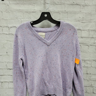 Primary Photo - BRAND:    CLOTHES MENTOR STYLE: SWEATER LIGHTWEIGHT COLOR: PURPLE SIZE: S OTHER INFO: COURT & ROWE - SKU: 115-115338-3357