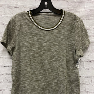 Primary Photo - BRAND: MADEWELL STYLE: TOP SHORT SLEEVE COLOR: OLIVE SIZE: L SKU: 115-115338-1671