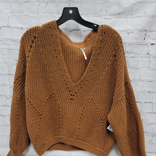 Primary Photo - BRAND: FREE PEOPLE STYLE: SWEATER LIGHTWEIGHT COLOR: MUSTARD SIZE: S SKU: 115-115338-3929