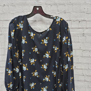 Primary Photo - BRAND: ANN TAYLOR LOFT STYLE: TOP LONG SLEEVE COLOR: NAVY SIZE: 3X OTHER INFO: MUSTARD SKU: 115-115309-21363