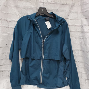 Primary Photo - BRAND:    CLOTHES MENTOR STYLE: ATHLETIC JACKET COLOR: TEAL SIZE: M OTHER INFO: ALL IN MOTION - SKU: 115-115309-17044