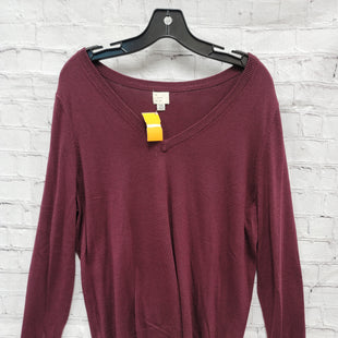 Primary Photo - BRAND: A NEW DAY STYLE: SWEATER LIGHTWEIGHT COLOR: MAROON SIZE: XXL SKU: 115-115335-3195
