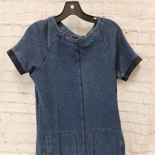 Primary Photo - BRAND: MAX JEANS STYLE: DRESS SHORT SHORT SLEEVE COLOR: DENIM SIZE: S SKU: 115-115309-21588