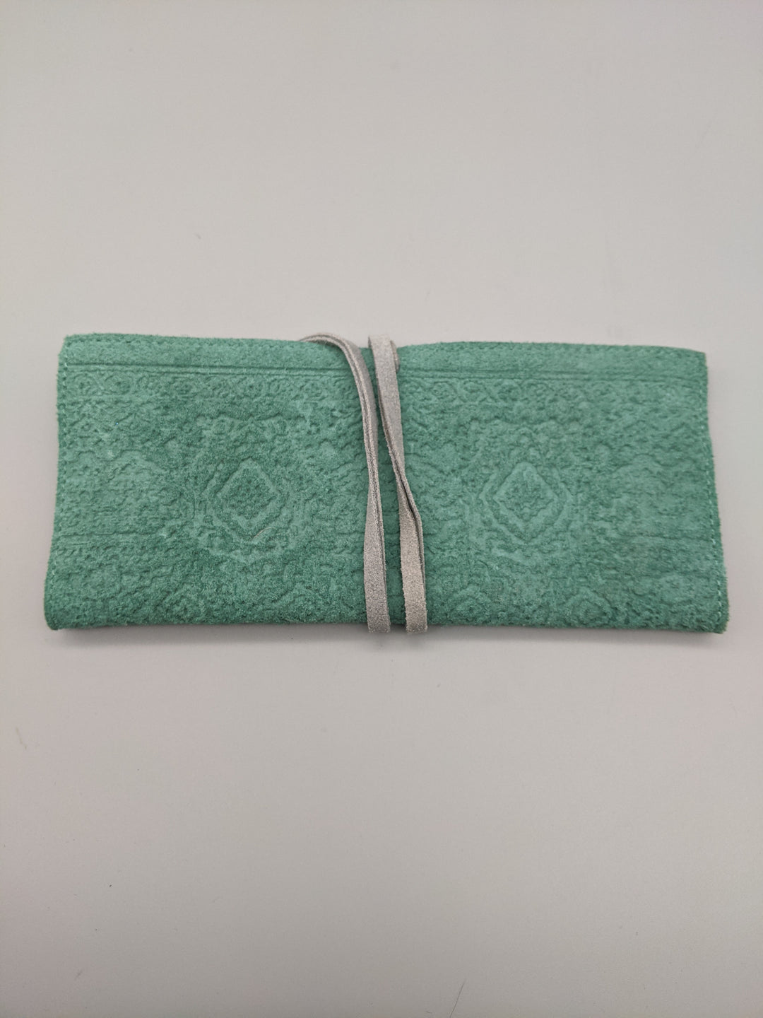 Primary Photo - BRAND: ANTHROPOLOGIE <BR>STYLE: WALLET <BR>COLOR: TURQUOISE <BR>SIZE: MEDIUM <BR>OTHER INFO: NWT WRAP <BR>SKU: 115-115302-17672